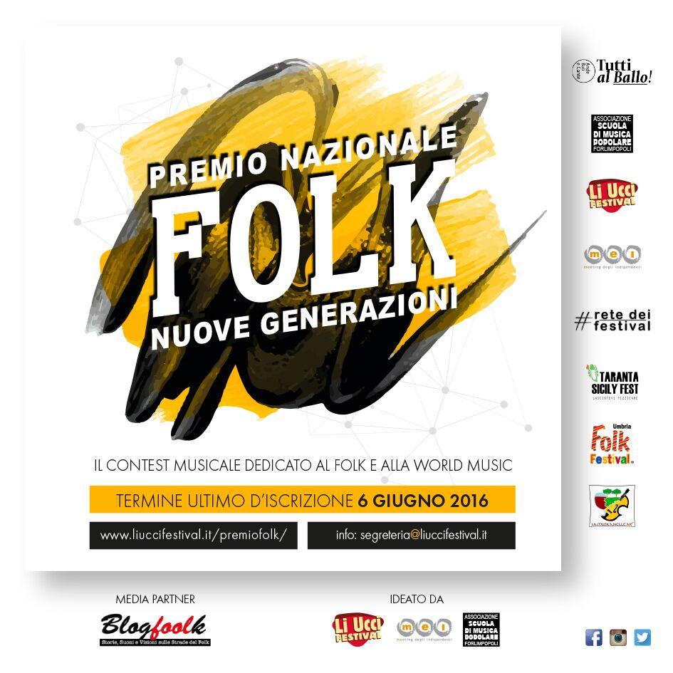 Premio Nazionale Folk NUOVE GENERAZIONI